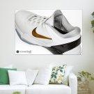 Kobe 7 White Epic Basketball Shoes Art Poster Print  36x24 inch