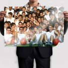 Kobe Bryant Streetball Fans Art Poster Print  36x24 inch