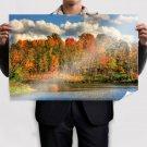 Autumn Colors  Art Poster Print  36x24 inch