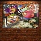 One Piece Calendar 2011  Art Poster Print  36x24 inch