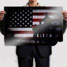Veterans Day 2012 Art Poster Print  36x24 inch