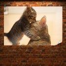 Love You Mom  Art Poster Print  36x24 inch
