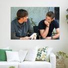 Jensen Ackles Supernatural  Art Poster Print  36x24 inch