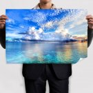 Paradise On Earth  Art Poster Print  36x24 inch