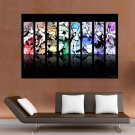 Cool Anime Girls Wall  Art Poster Print  36x24 inch