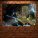 Fantasy World  Art Poster Print  36x24 inch