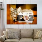 Say Cheese Let S Take A Picture  Art Poster Print  36x24 inch