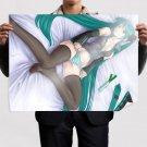 Vocaloid Miku 14  Art Poster Print  32x24 inch