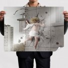 And They Make Mistakes  Art Poster Print  32x24 inch