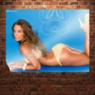 Blue Ii  Art Poster Print  32x24 inch