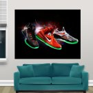 Nba Allstar Sneakers 2012 Supernova Art Poster Print  32x24 inch