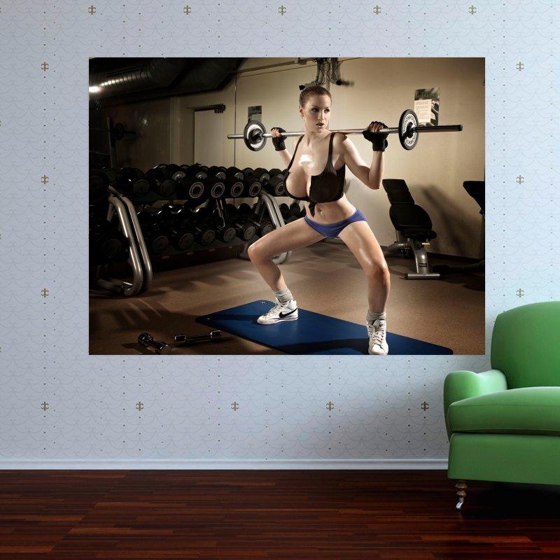 Jordan Carver 50  Art Poster Print  32x24 inch
