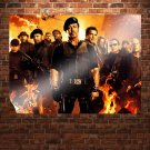The Expendables 2  Art Poster Print  32x24 inch