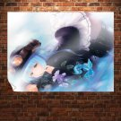 Anime Girl  Art Poster Print  32x24 inch