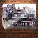 Chester England  Art Poster Print  32x24 inch