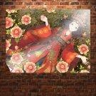 Anime Queen  Art Poster Print  32x24 inch