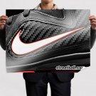 Lebron James Iv Basketball Sneakers Art Poster Print  32x24 inch