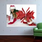 Merry Christmas  Art Poster Print  32x24 inch