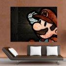 Mario World  Art Poster Print  32x24 inch