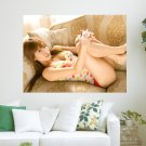 Japanese Beauty  Art Poster Print  24x18 inch