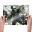 Angry Hulk  Art Poster Print  24x18 inch