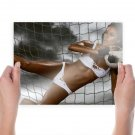 Beautiful Goal Keeper  Art Poster Print  24x18 inch