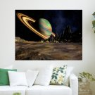 3d Space  Art Poster Print  24x18 inch