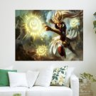 Game League Of Legends Hd  Art Poster Print  24x18 inch