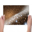 Beautiful Stars  Art Poster Print  24x18 inch