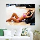 Irina Shayk  Art Poster Print  24x18 inch