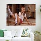 Schoolgirl Veronika  Art Poster Print  24x18 inch