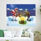 Christmas Plants Vs Zombies  Art Poster Print  24x18 inch