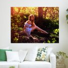 Woodland Beauty  Art Poster Print  24x18 inch