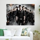 The Expendables  Art Poster Print  24x18 inch