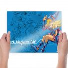 Dark Magician Girl  Art Poster Print  24x18 inch