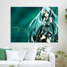 Vocaloid Calendar  Art Poster Print  24x18 inch