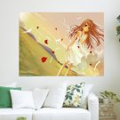 A Girl In The Wind  Art Poster Print  24x18 inch