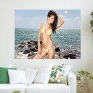 Fashion Model Swimsuit  Art Poster Print  24x18 inch