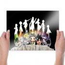 Anime Katekyo Hitman Reborn Here Art Poster Print  24x18 inch