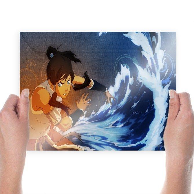 The Legend Of Korra  Art Poster Print  24x18 inch