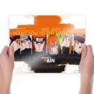 6 Paths Of Pain Naruto Shippuuden  Art Poster Print  24x18 inch