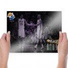 Lakers Nba Playoffs 2011  Art Poster Print  24x18 inch