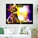 Blood Elf  Art Poster Print  24x18 inch