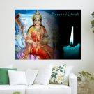Bless Diwali  Art Poster Print  24x18 inch