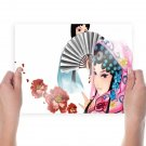 Chinese Opera Characters  Art Poster Print  24x18 inch