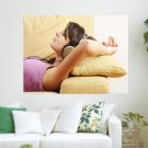 Just Relaxing  Art Poster Print  24x18 inch