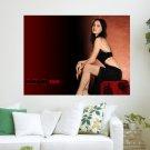 Megan Fox 777  Art Poster Print  24x18 inch