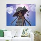 Girl In A Sun Shine  Art Poster Print  24x18 inch