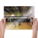 Po Bill Basketball Classic 5 Art Poster Print  24x18 inch