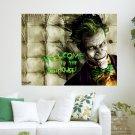 The Joker  Art Poster Print  24x18 inch